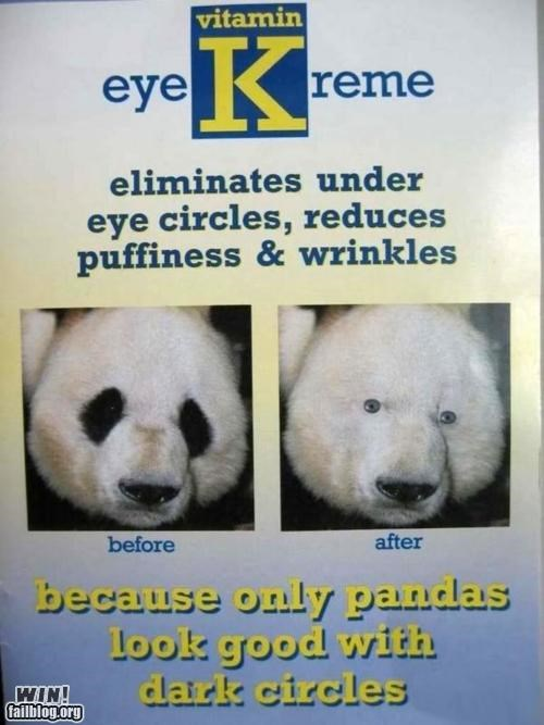 Ad advertisement clever panda - 4281898240