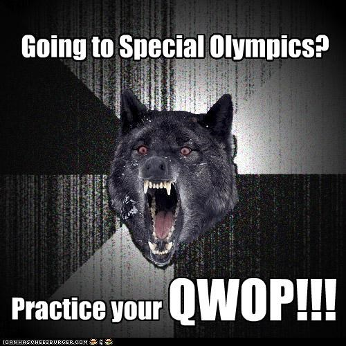 Insanity Wolf,national hero,QWOP,special olympics