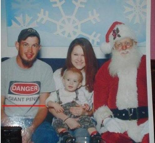 douchebag,family,kid,mall,redneck,santa