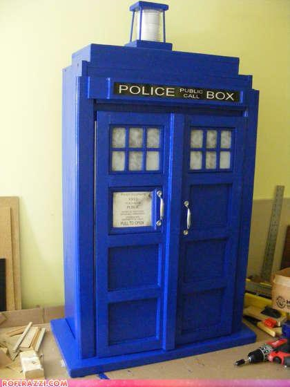 cool,DIY,doctor who,sci fi,tardis