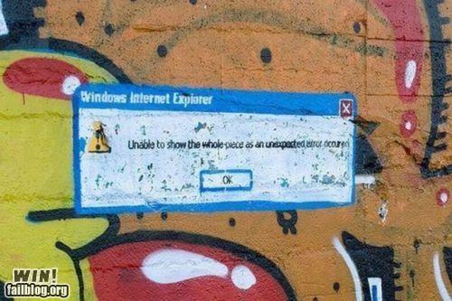 graffiti hacked internet technology - 4282879744
