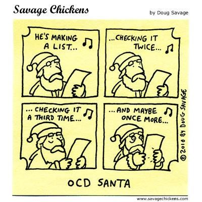 christmas comic list naughty nice ocd santa - 4282994688