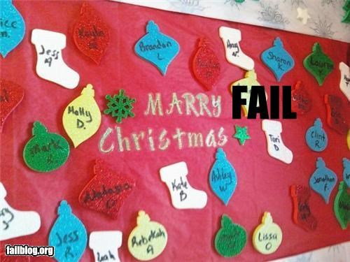 board cards christmas failboat g rated holiday merry spelling - 4283126272