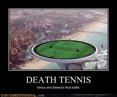 awesome Death epic highlander serena williams tennis venus williams