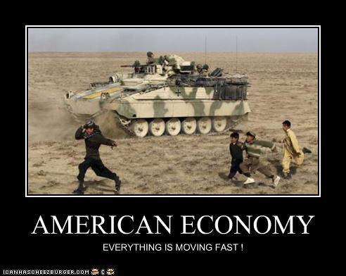 AMERICAN ECONOMY EVERYTHING IS MOVING FAST !