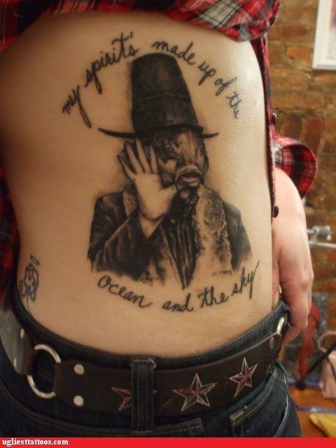 wtf tattoos captain beefheart