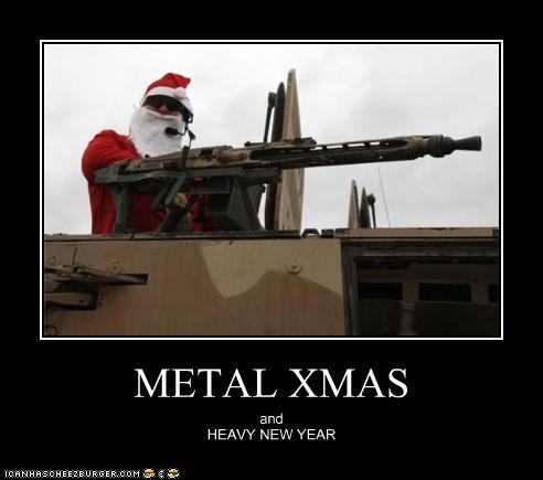 METAL XMAS and HEAVY NEW YEAR
