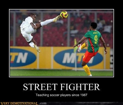 capcom,kick,modern living,reality,ryu,soccer,video games