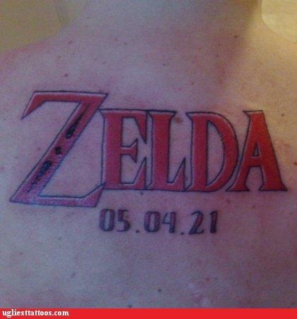 wtf,Videogames,tattoos,zelda
