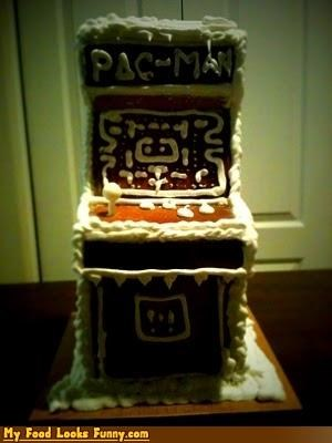 1980s 80s gingerbread gingerbread pac-man pacman pac man Sweet Treats video games