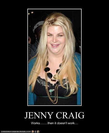 actor,celeb,demotivational,kirstie alley