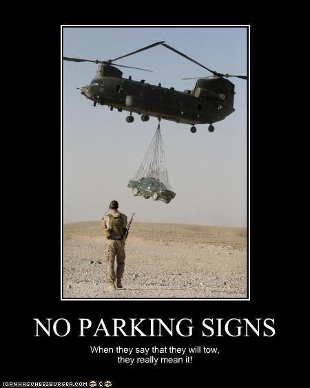 cars,desert,helicopter,military,parking,signs,soldiers