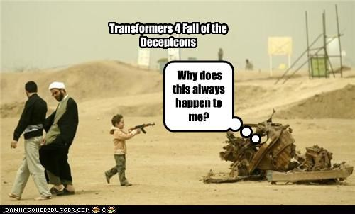 Transformers 4 Fall of the Deceptcons Why does this always happen to me?