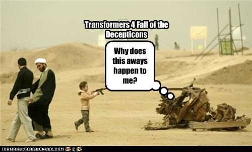 Transformers 4 Fall of the Decepticons Why does this aways happen to me?