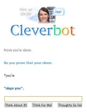 grammar Cleverbot slap - 4287585792