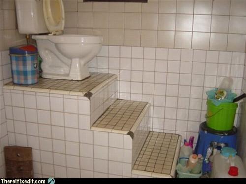 bathroom thro toilet wtf - 4287912704