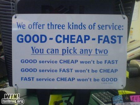 awesome at work customer service signs - 4287954176