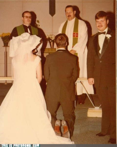 awesome,marriage,photobomb,run dude,vintage,when you see it