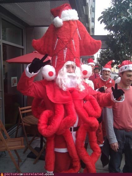 costume monster santa santa claus wtf - 4288546304