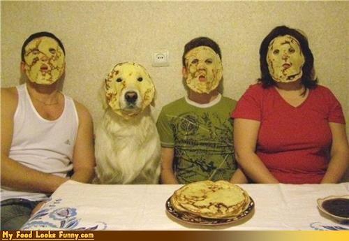 faces,masks,nalesniki,pancakes,poland,Sweet Treats