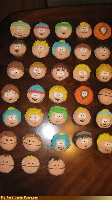 cartoons,comedy central,cupcakes,South Park,Sweet Treats,TV,tv shows