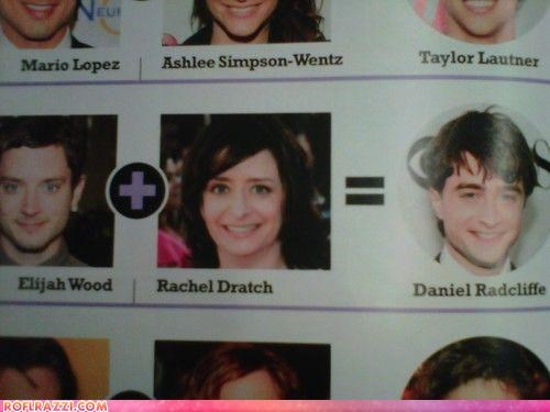 Daniel Radcliffe,elijah wood,funny,rachel dratch