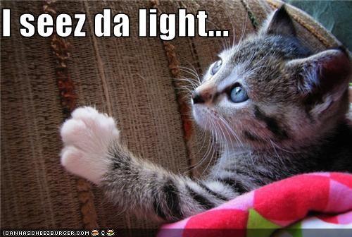 I seez da light...