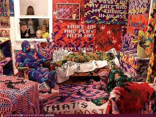 art really wtf room wtf yarn - 4290083328