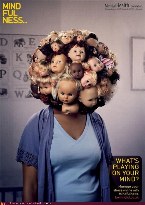 baby dolls eww heads wtf