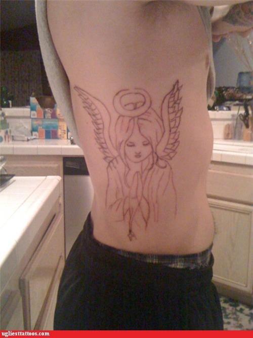 bad angels tattoos - 4290294528