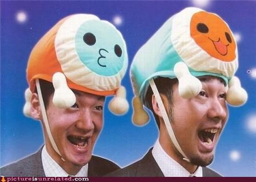 cool hats excitement fashion guess that makes sense wtf wtf japan - 4290444544