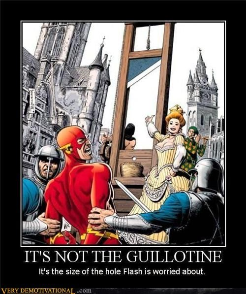 castration comic books flash guillotine sad but true - 4290651136