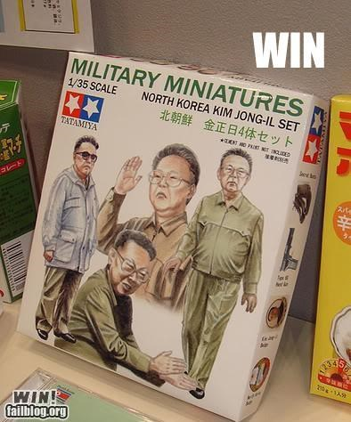 military North Korea toys