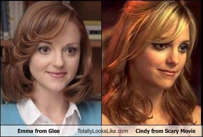Anna Faris glee jayma mays scary movie