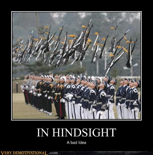 guns hindsight-being-2020 soldiers thought they had the force wtf