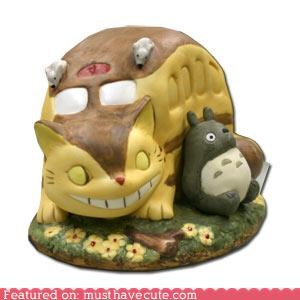catbus ceramic music box totoro - 4291702528