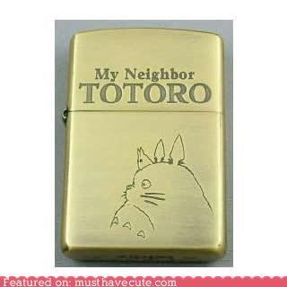 lighter metal totoro zippo - 4291705088