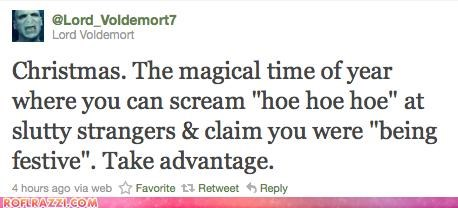funny Harry Potter Lord Voldemort sci fi tweet twitter - 4291752192