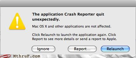 crash mac not responding os x - 4294497536