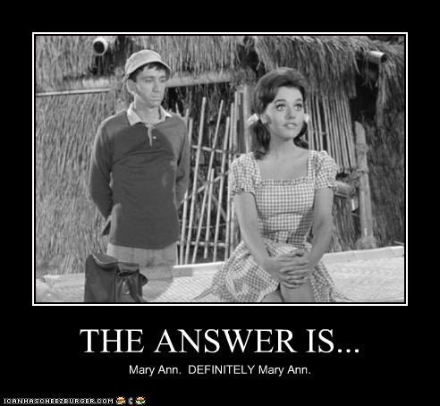 actor,bob denver,celeb,dawn wells,demotivational,funny,gilligans-island,TV