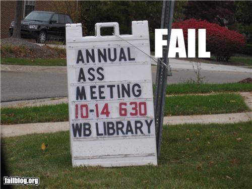 abbreviation failboat meeting poor planning sign - 4295613952