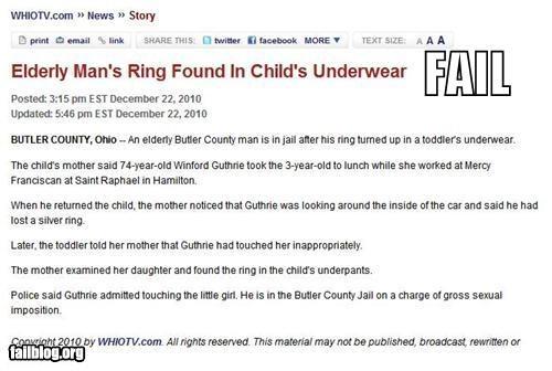 failboat headline Probably bad News rings underwear