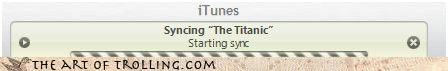 IRL iTunes podcasts syncing titanic whats-in-a-name