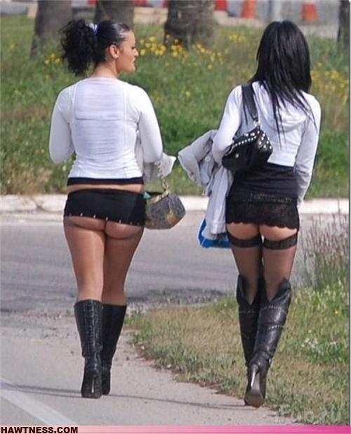 booty eww miniskirt skirt smoosh wtf - 4297822976