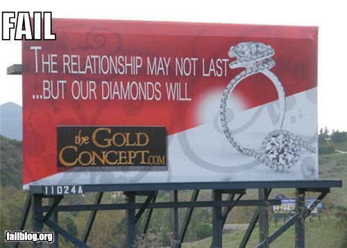 Ad billboard failboat g rated Jewelry relationship - 4298792704