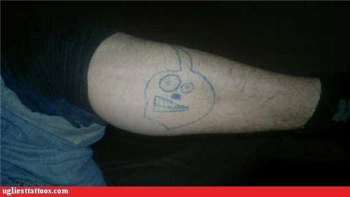 bad face tattoos funny - 4299055360