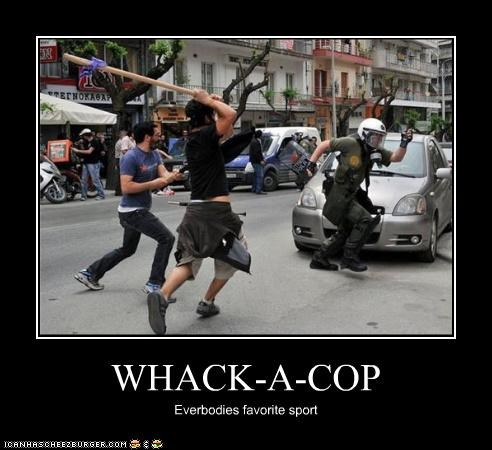 WHACK-A-COP Everbodies favorite sport