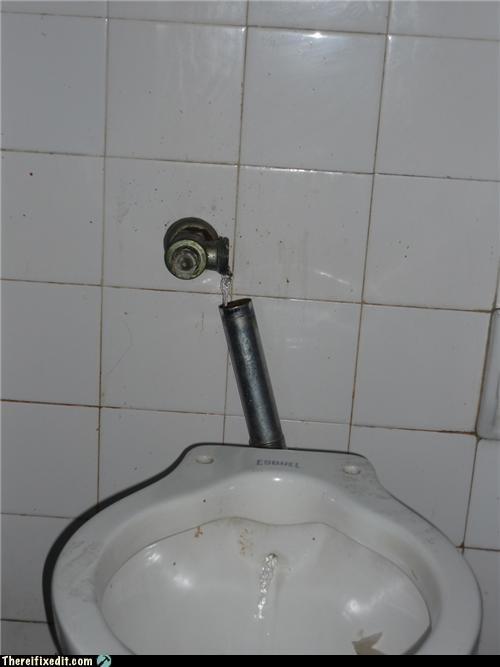 Drip flush public toilet wtf - 4299614720