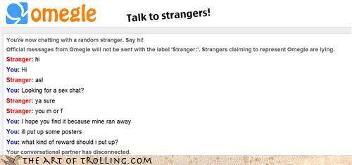 Sex talk with strangers