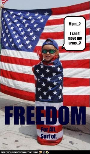 American Flag child abuse flag freedom idiots kids patriotism - 4299830016